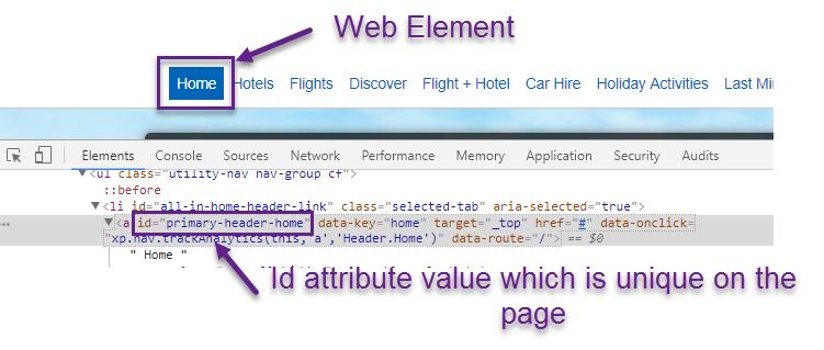 How to find web element in selenium? | Testingbits com