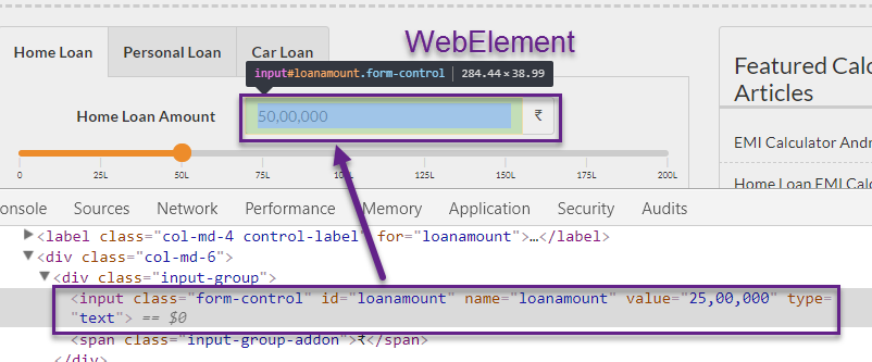 How to locate element using Xpath in Selenium WebDriver